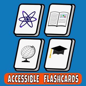 Portada de Accessible Flash Cards