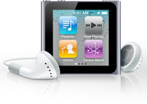 Foto del Apple iPod nano 6G